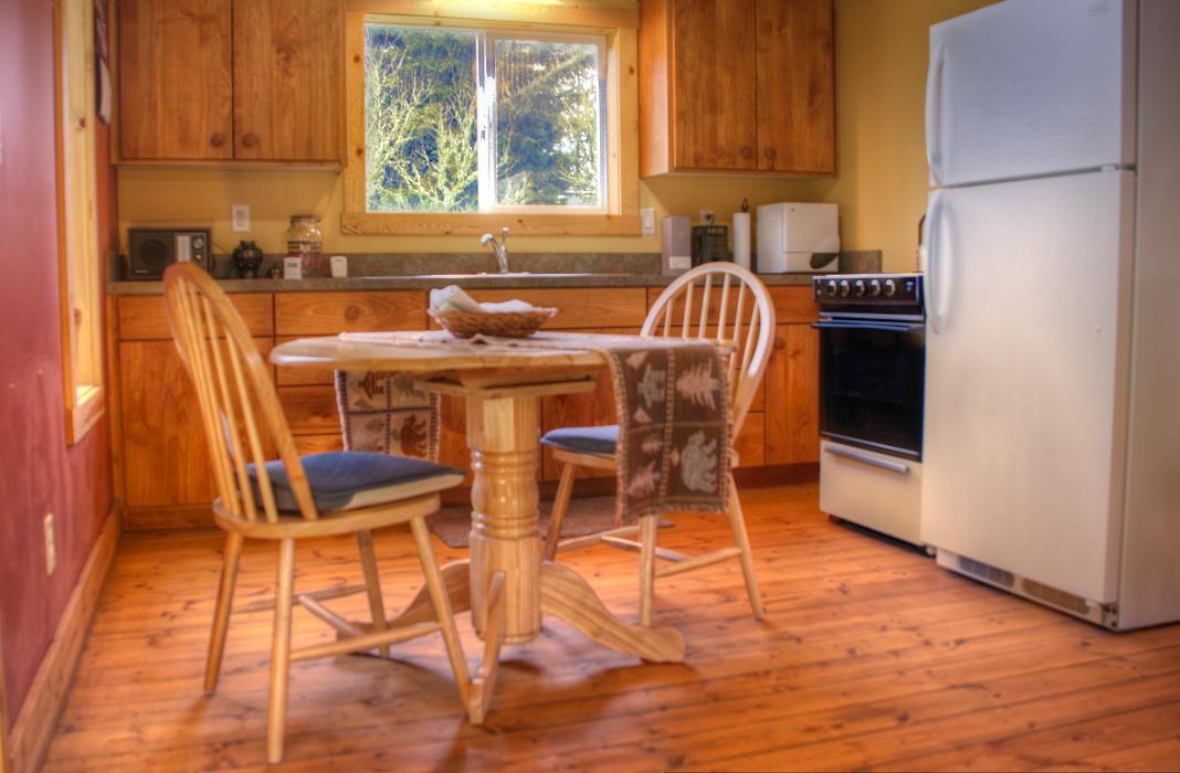 Sunnyview Cabin kitchen