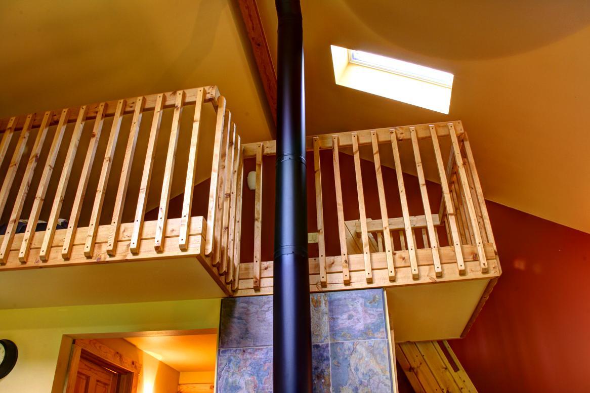 Sunnyview Cabin loft