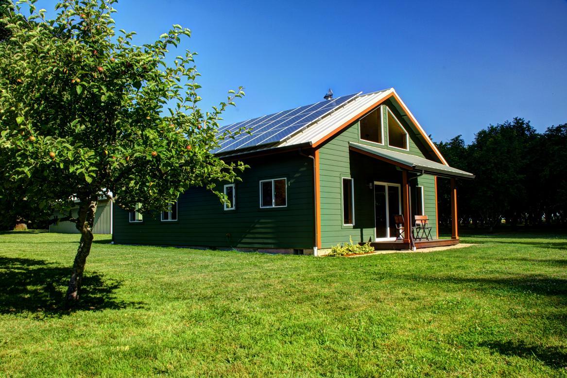 sunnyview cabin solar panels