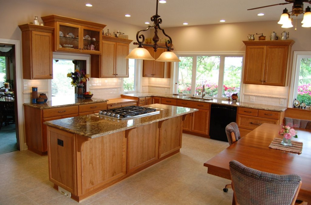 Open Country Kitchen Island