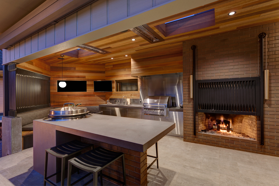 Santiam Outdoor Kitchen