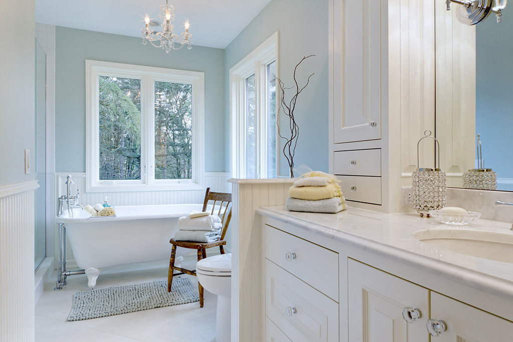 Master Bath Makeover Kaufman Homes
