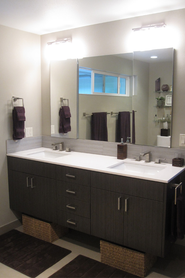 Kaufman Homes Cypress Master Bath Vanity