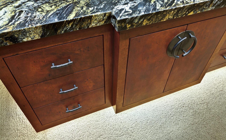 St. Andrews Custom Dressing Room Cabinet