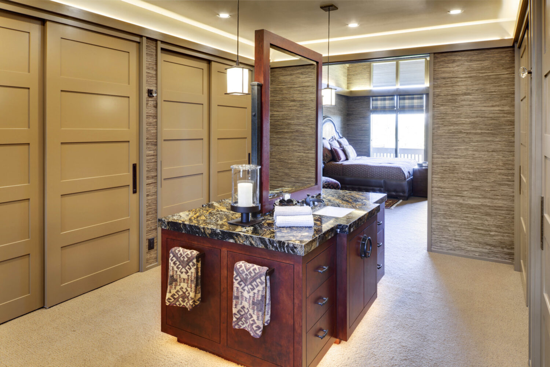 St. Andrews Custom Dressing Room Vanity