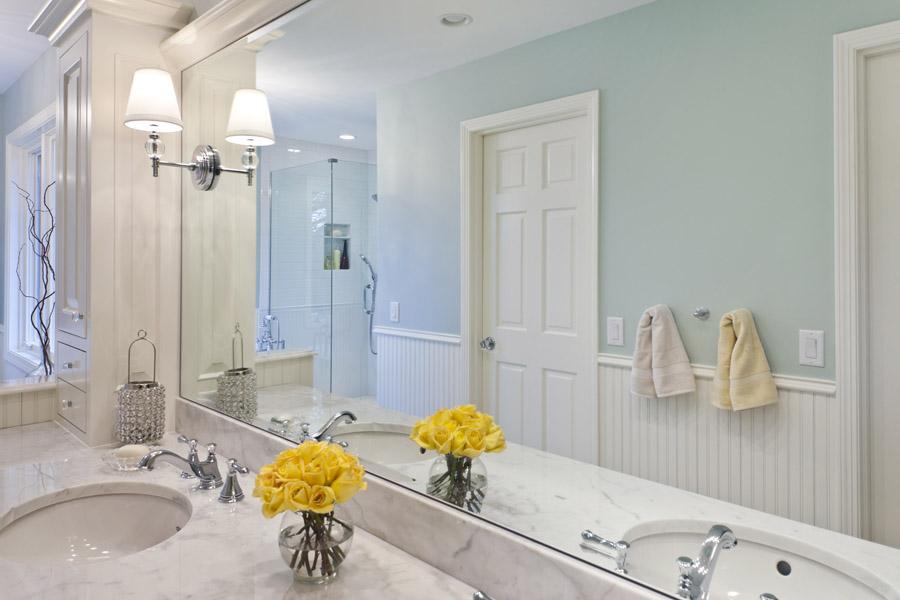 Kaufman Homes Deer Lake Master Bath Vanity