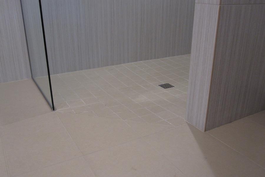 Kaufman Homes Cypress Master Bath Floor