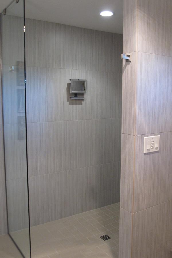 Cypress Master Bath Shower