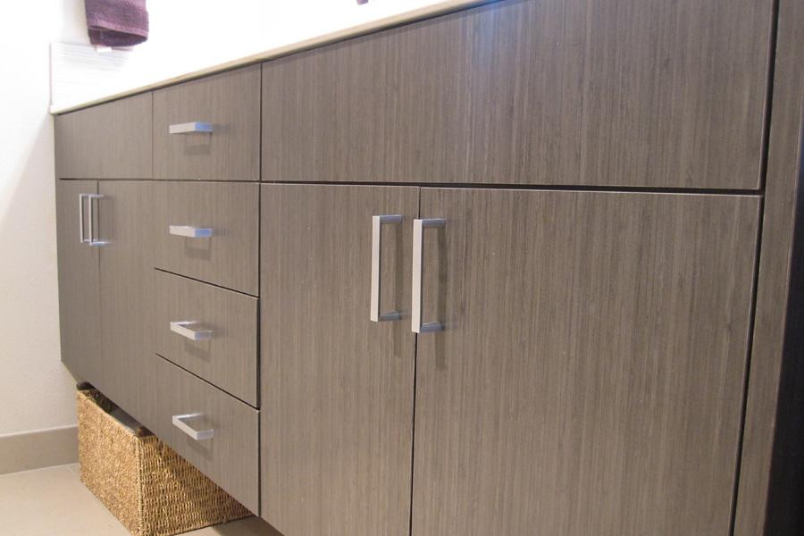 Cypress Master Bath Cabinet