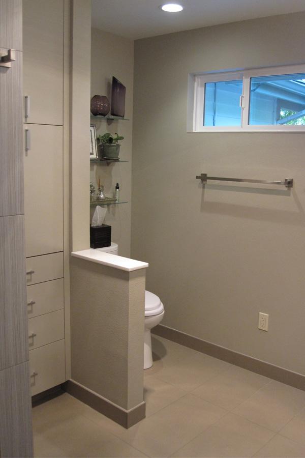Cypress Master Bath Water Closet